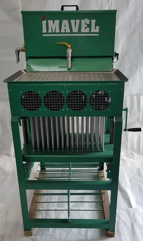 Maquina de fabricar velas de parafina