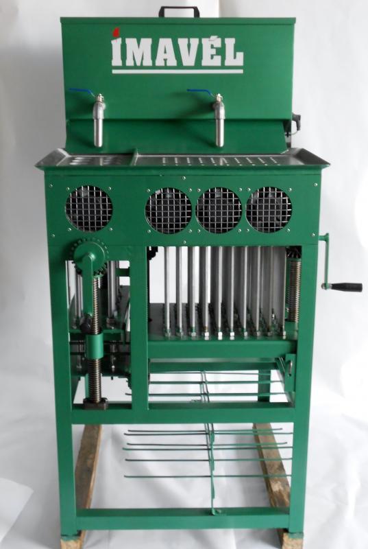 Maquina de velas manual