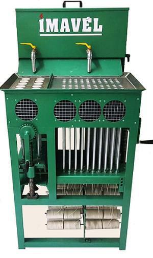 Maquina de velas práticas manual